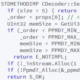 Bitdefender: Remote Stack Buffer Overflow via 7z PPMD
